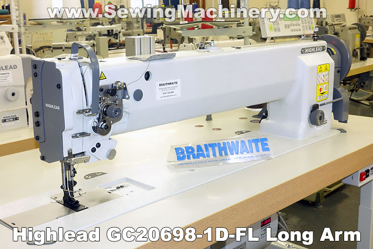 Highlead GC20698-1D long arm sewing machine
