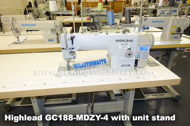 Highlead direct drive sewing machine