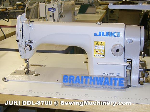 Juki DDL 40 Sewing Machine Industrial £40 Delectable Juki 8700 Sewing Machine Price