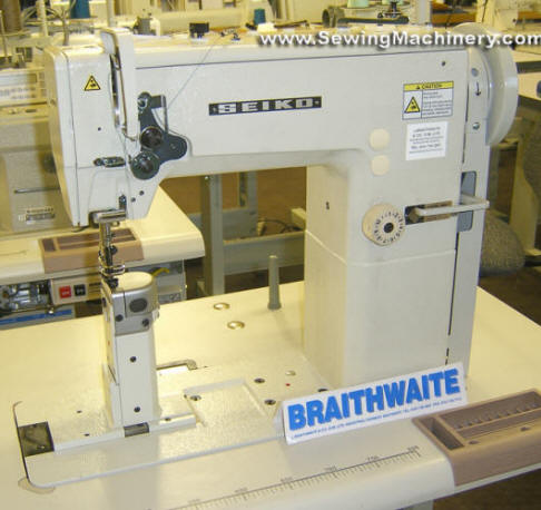 Seiko LPWN 40BL Heavy Duty Post Bed Sewing Machine 40BL 40BL Fascinating Braithwaite Industrial Sewing Machines