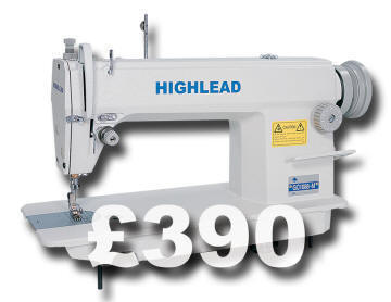 Highlead GC1088 sewing machine £390